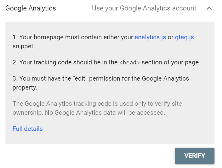 google-analytics-verification